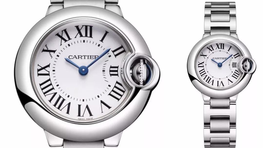 The small and exquisite Cartier will enhance the charm of ladies perfectly.