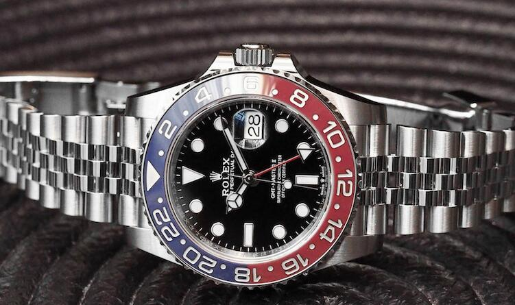 This Rolex with blue and red ceramic bezel could be regarded as the most popular Rolex this year.
