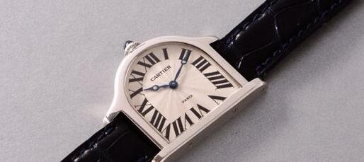 The Cartier Cloche would be a small table clock when placing on the desk.