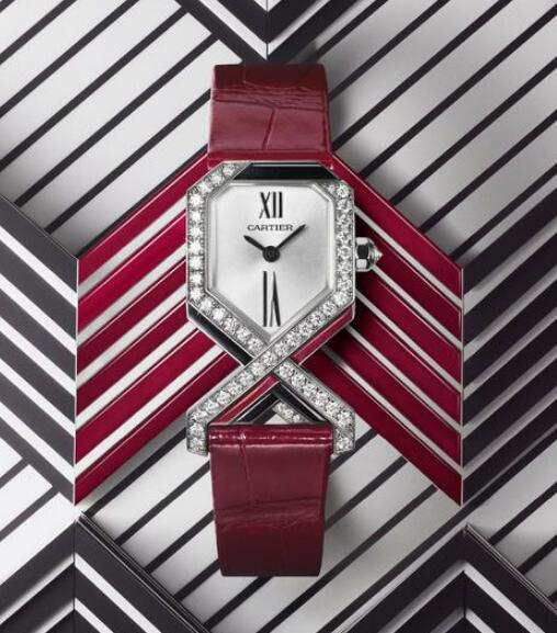 The distinctive style of this Cartier will attract lots of women.