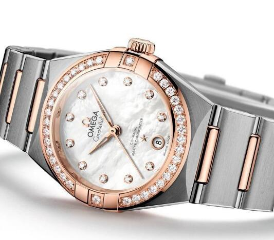 The Omega Constellation is not only with brilliant appearance but also high performance.