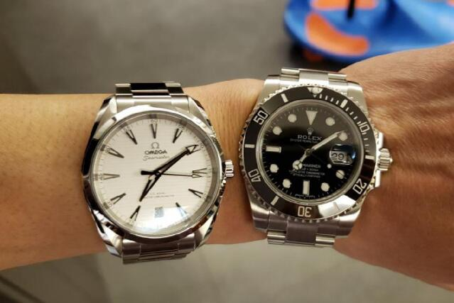 The Rolex is for casual occasion while the Omega is for formal occasion.