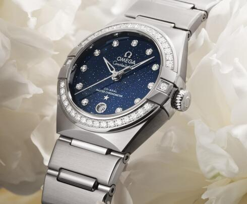 The Omega Constellation is best choice for women.