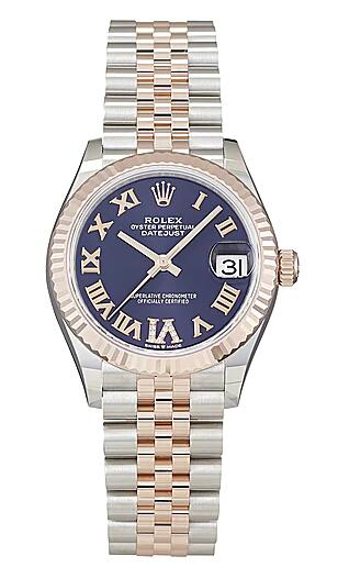 Hot-selling Rolex replica watches bring delicacy with Roman numerals and diamonds.