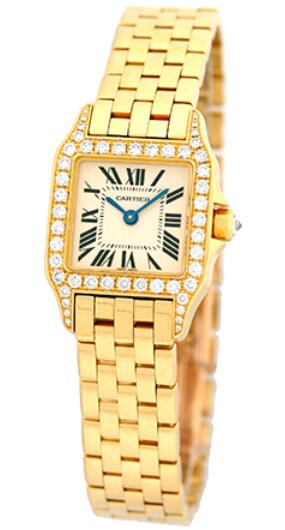 Online replica watches are made up of gold cases and gold bracelets.