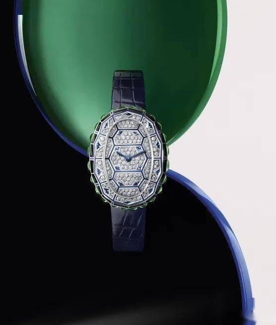 Swiss replica watches are showy for the blue color.