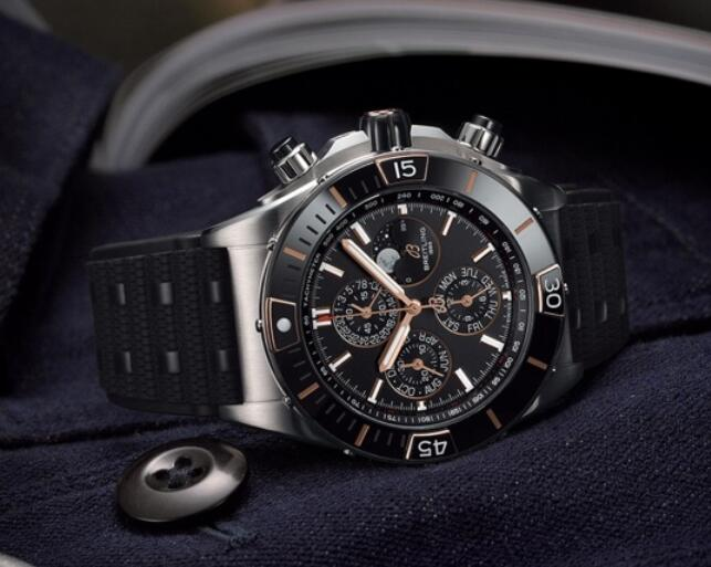 AAA replica watches are steady with black color.